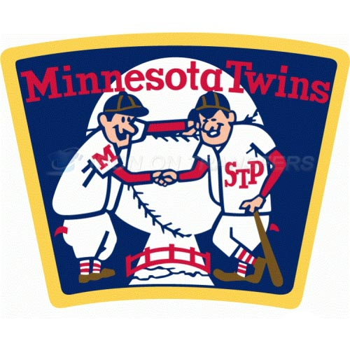 Minnesota Twins Iron-on Stickers (Heat Transfers)NO.1747