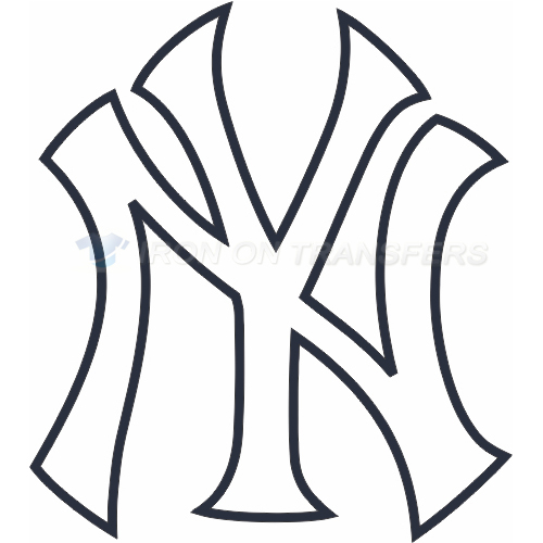 New York Yankees Iron-on Stickers (Heat Transfers)NO.1782