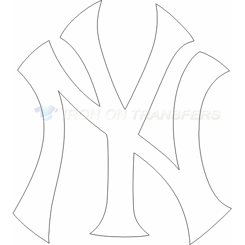 New York Yankees Iron-on Stickers (Heat Transfers)NO.1783