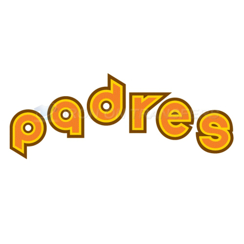 San Diego Padres Iron-on Stickers (Heat Transfers)NO.1840