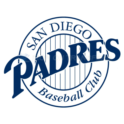 San Diego Padres Iron-on Stickers (Heat Transfers)NO.1842