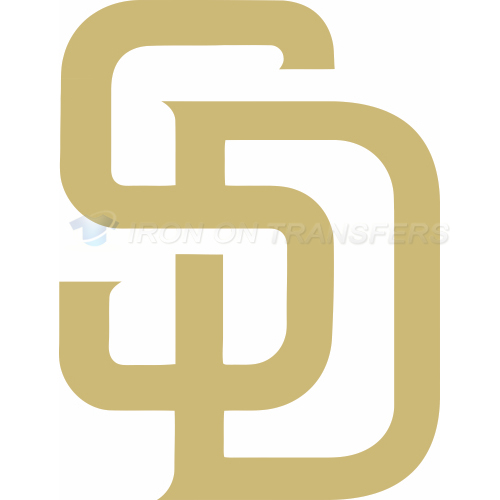 San Diego Padres Iron-on Stickers (Heat Transfers)NO.1850