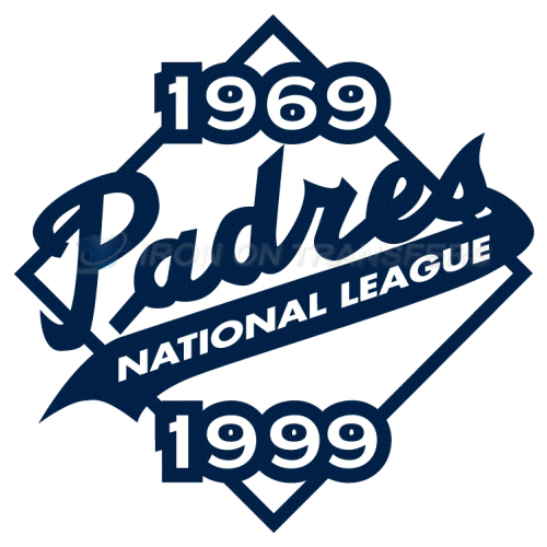 San Diego Padres Iron-on Stickers (Heat Transfers)NO.1856
