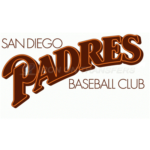 San Diego Padres Iron-on Stickers (Heat Transfers)NO.1859