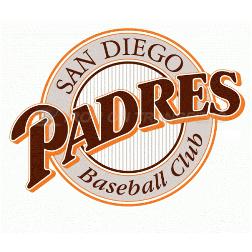 San Diego Padres Iron-on Stickers (Heat Transfers)NO.1861