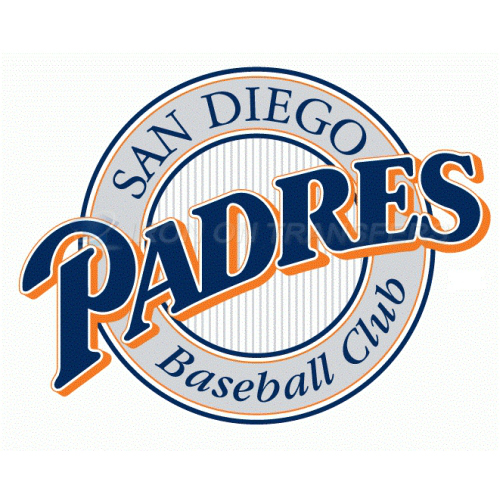 San Diego Padres Iron-on Stickers (Heat Transfers)NO.1862
