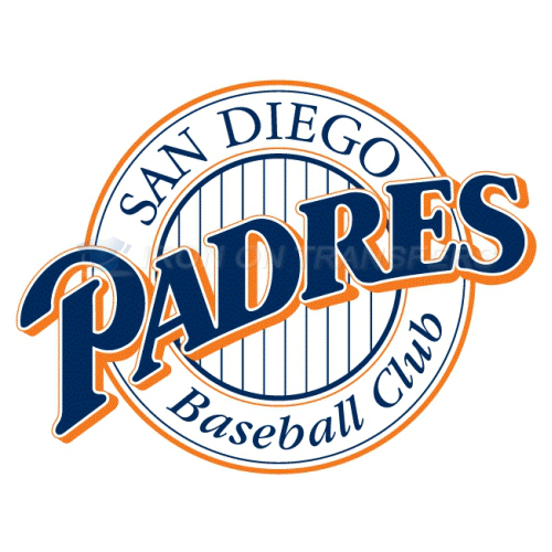 San Diego Padres Iron-on Stickers (Heat Transfers)NO.1863