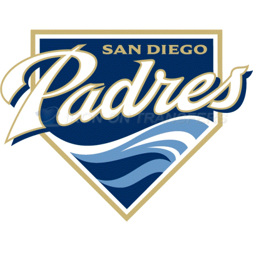 San Diego Padres Iron-on Stickers (Heat Transfers)NO.1864