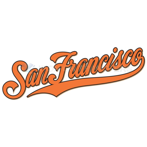 San francisco giants iron on stickers heat transfersno 1898