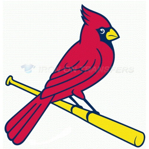St. Louis Cardinals Iron-on Stickers (Heat Transfers)NO.1929