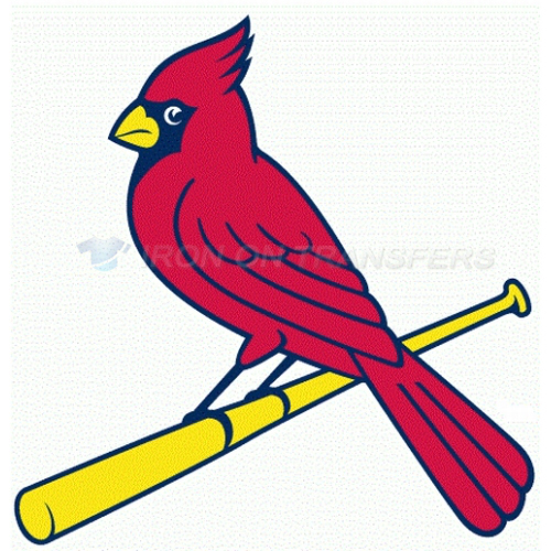 St. Louis Cardinals Iron-on Stickers (Heat Transfers)NO.1930