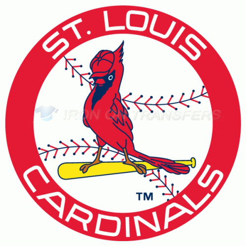 St. Louis Cardinals Iron-on Stickers (Heat Transfers)NO.1933