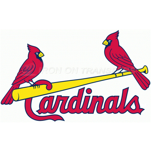 St. Louis Cardinals Iron-on Stickers (Heat Transfers)NO.1934