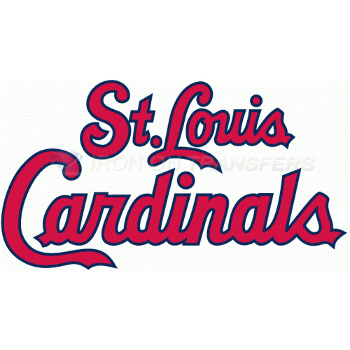 St. Louis Cardinals Iron-on Stickers (Heat Transfers)NO.1935