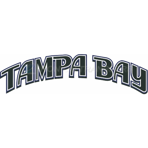 Tampa Bay Rays Iron-on Stickers (Heat Transfers)NO.1953