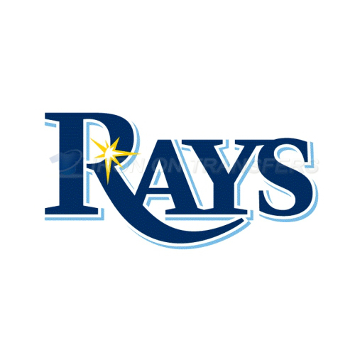 Tampa Bay Rays Iron-on Stickers (Heat Transfers)NO.1955