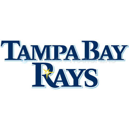 Tampa Bay Rays Iron-on Stickers (Heat Transfers)NO.1956
