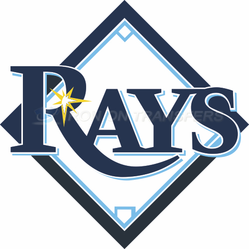 Tampa Bay Rays Iron-on Stickers (Heat Transfers)NO.1958