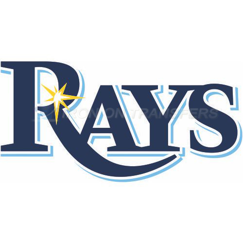 Tampa Bay Rays Iron-on Stickers (Heat Transfers)NO.1959