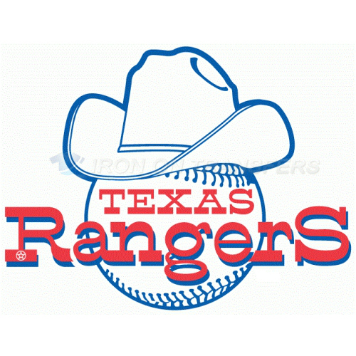 Texas Rangers Iron-on Stickers (Heat Transfers)NO.1970