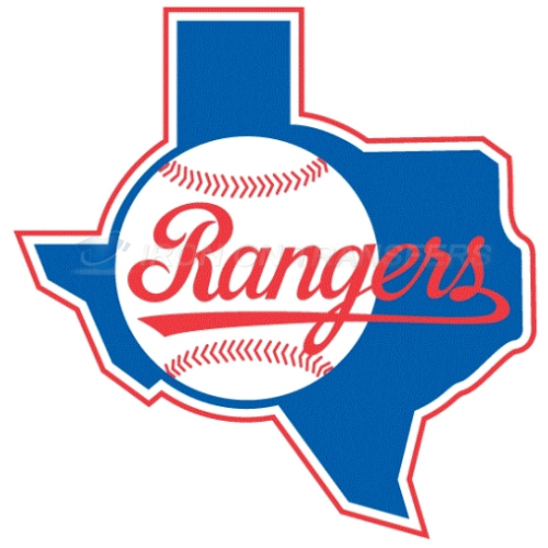Texas Rangers Iron-on Stickers (Heat Transfers)NO.1971