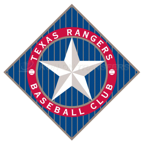 Texas Rangers Iron-on Stickers (Heat Transfers)NO.1972