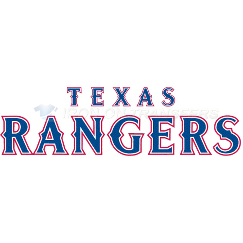 Texas Rangers Iron-on Stickers (Heat Transfers)NO.1977