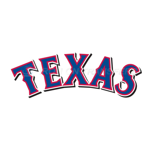 Texas Rangers Iron-on Stickers (Heat Transfers)NO.1978