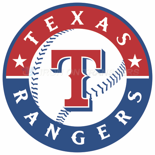 Texas Rangers Iron-on Stickers (Heat Transfers)NO.1980