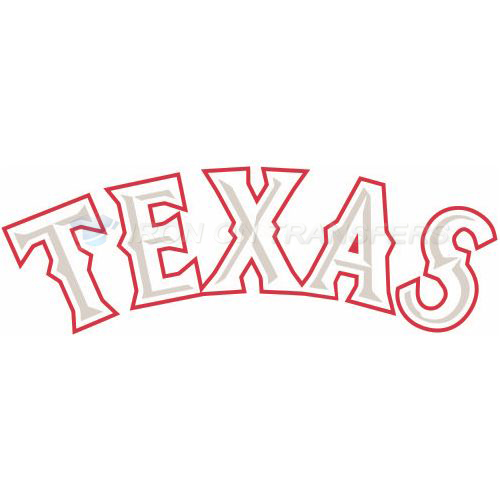 Texas Rangers Iron-on Stickers (Heat Transfers)NO.1981
