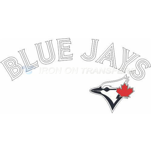Toronto Blue Jays Iron-on Stickers (Heat Transfers)NO.2005