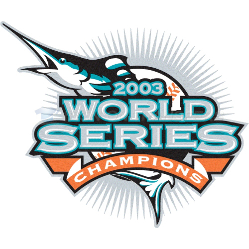 World Series Champions Iron-on Stickers (Heat Transfers)NO.2033