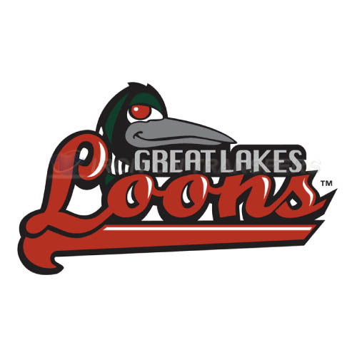 Great Lakes Loons Iron-on Stickers (Heat Transfers)NO.8103