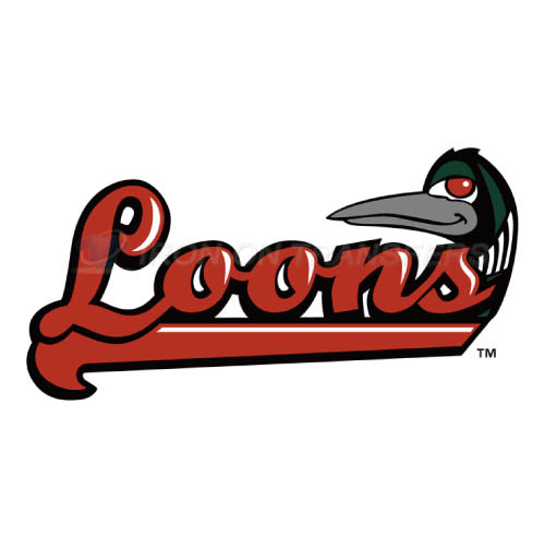 Great Lakes Loons Iron-on Stickers (Heat Transfers)NO.8104