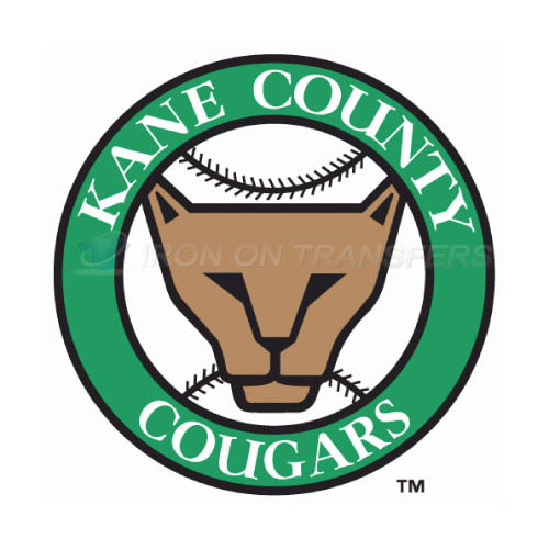 Kane County Cougars Iron-on Stickers (Heat Transfers)NO.8106