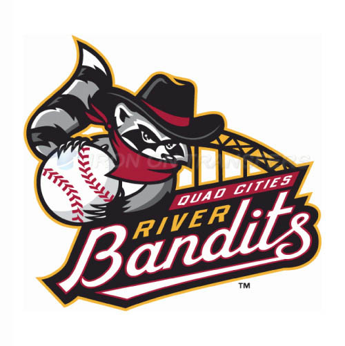 Quad Cities River Bandits Iron-on Stickers (Heat Transfers)NO.8122
