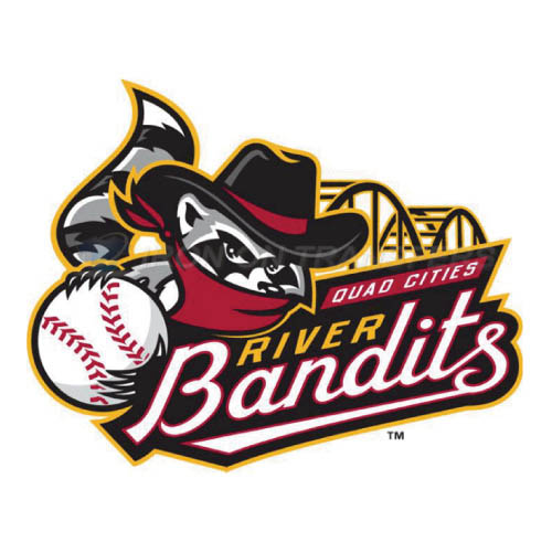 Quad Cities River Bandits Iron-on Stickers (Heat Transfers)NO.8124