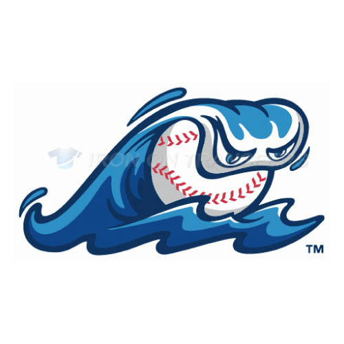 West Michigan Whitecaps Iron-on Stickers (Heat Transfers)NO.8134
