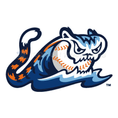 West Michigan Whitecaps Iron-on Stickers (Heat Transfers)NO.8135