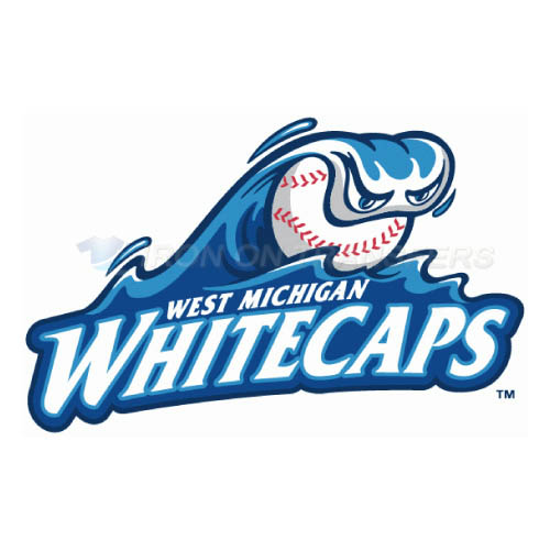 West Michigan Whitecaps Iron-on Stickers (Heat Transfers)NO.8137