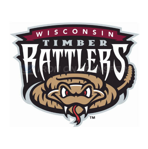 Wisconsin Timber Rattlers Iron-on Stickers (Heat Transfers)NO.8142