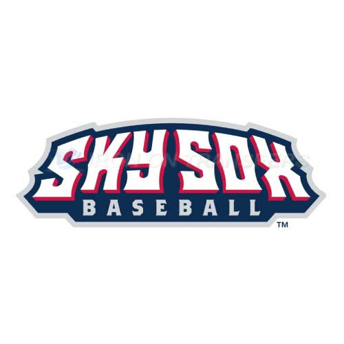 Colorado Springs Sky Sox Iron-on Stickers (Heat Transfers)NO.8144