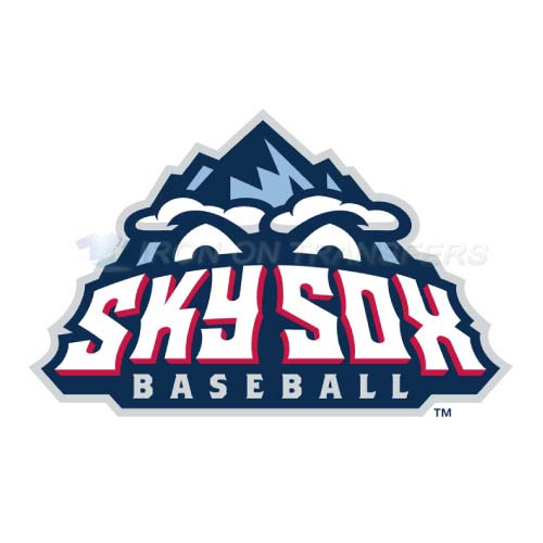 Colorado Springs Sky Sox Iron-on Stickers (Heat Transfers)NO.8150