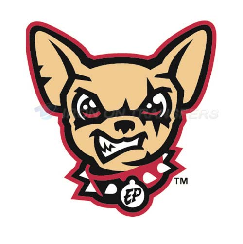 El Paso Chihuahuas Iron-on Stickers (Heat Transfers)NO.8155