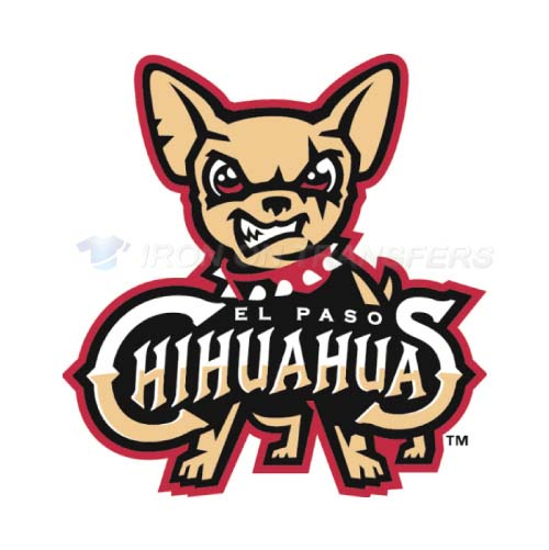 El Paso Chihuahuas Iron-on Stickers (Heat Transfers)NO.8156