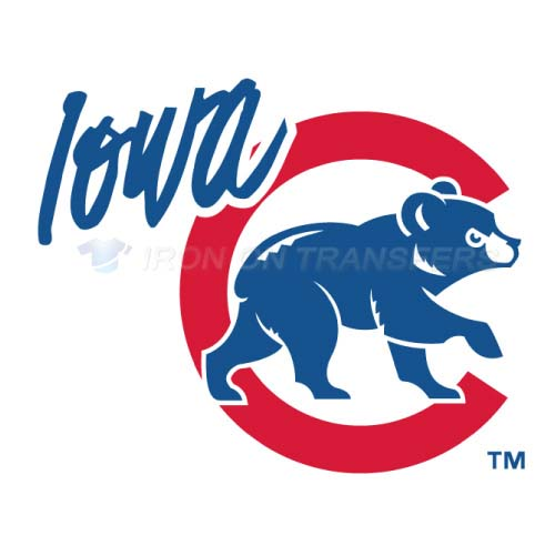 Iowa Cubs Iron-on Stickers (Heat Transfers)NO.8166