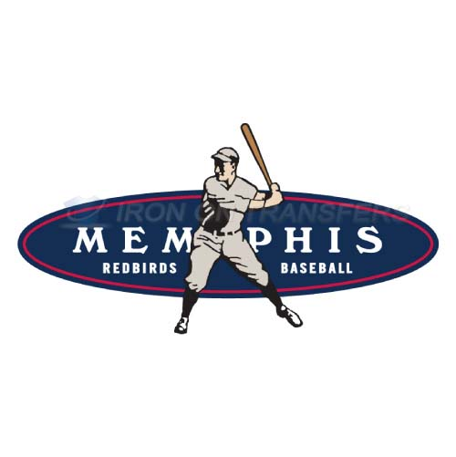 Memphis Redbirds Iron-on Stickers (Heat Transfers)NO.8174
