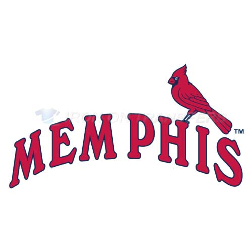 Memphis Redbirds Iron-on Stickers (Heat Transfers)NO.8175