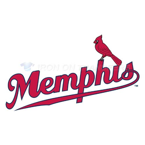 Memphis Redbirds Iron-on Stickers (Heat Transfers)NO.8179