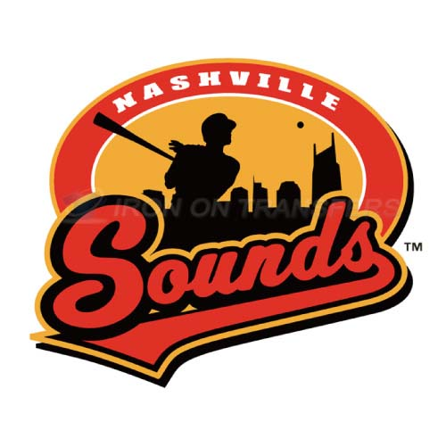 Nashville Sounds Iron-on Stickers (Heat Transfers)NO.8182